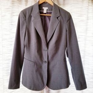 Worthington Classic Career Blazer Gray 8 TALL